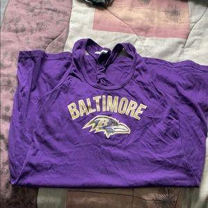 Women's Baltimore Ravens Tank